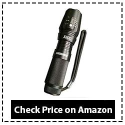 Shadowhawx X800 Tactical Flashlight